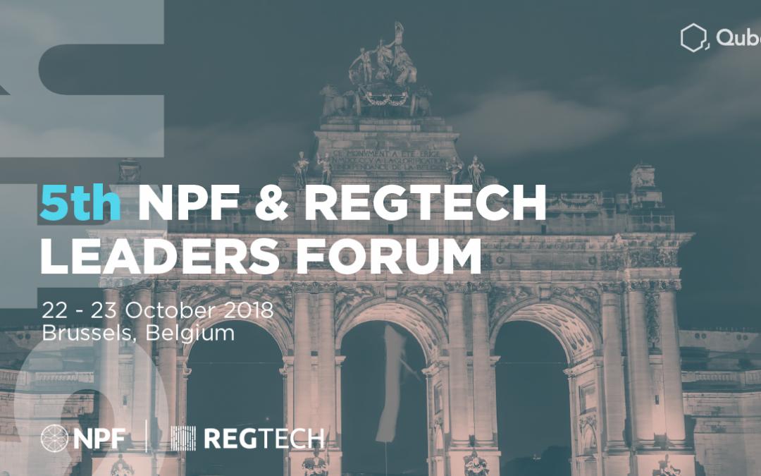 5th NPF & Regtech Leaders Forum 2018
