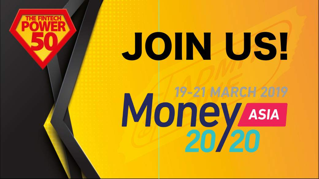 Money 2020 Asia 2019 Fintech Power 50