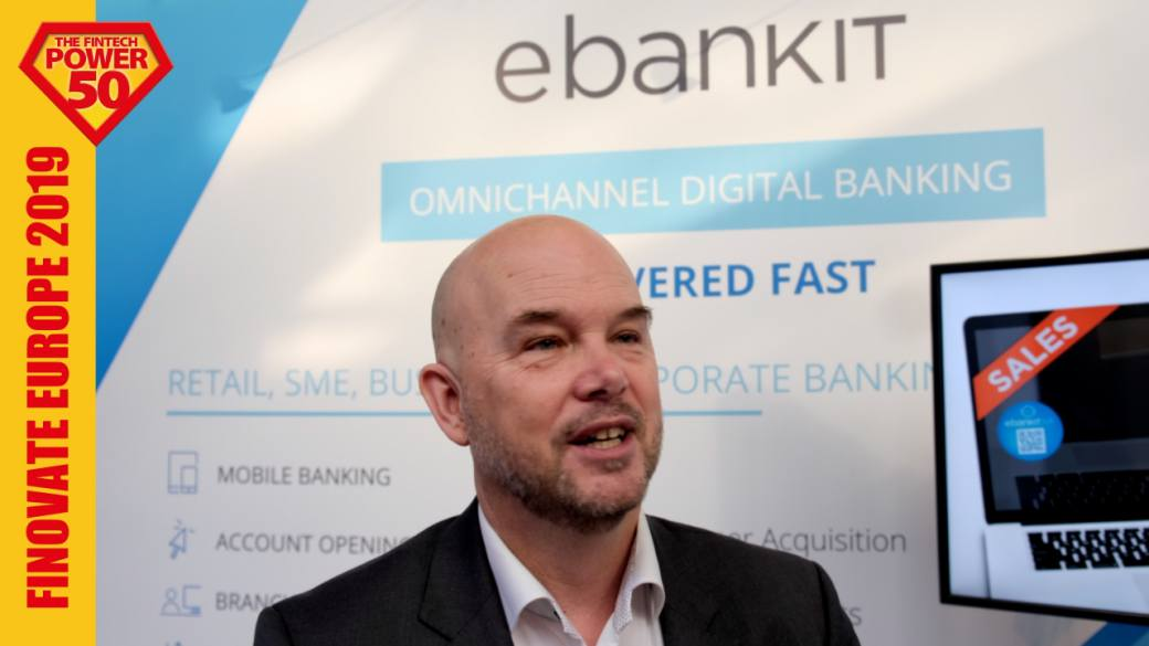 Finovate Europe 2019: Interview with ebanKIT fintech
