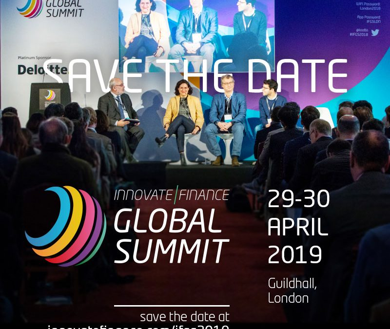 Innovate Finance Global Summit 2019