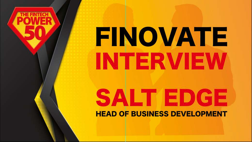 Finovate Europe 2019: Interview with Salt Edge