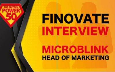 Finovate Europe 2019: Interview with Microblink