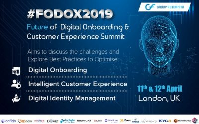 Group Futurista noticed a Great Success for Future of Digital Onboarding and Customer Summit 2019