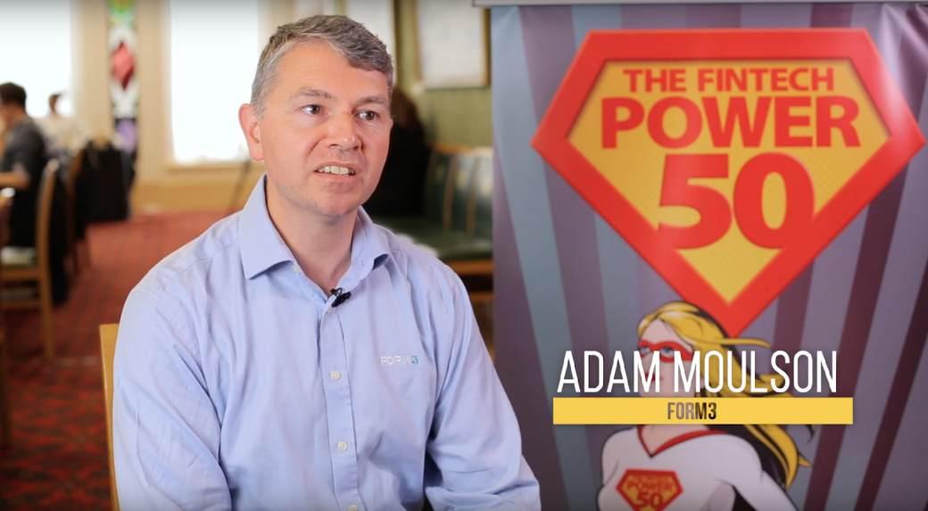 Form3 Interview Adam Moulson Fintech