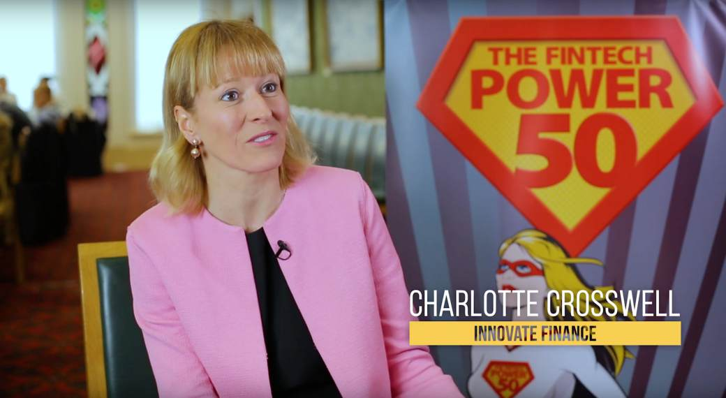 Innovate Finance Interview with CEO Charlotte Crosswell