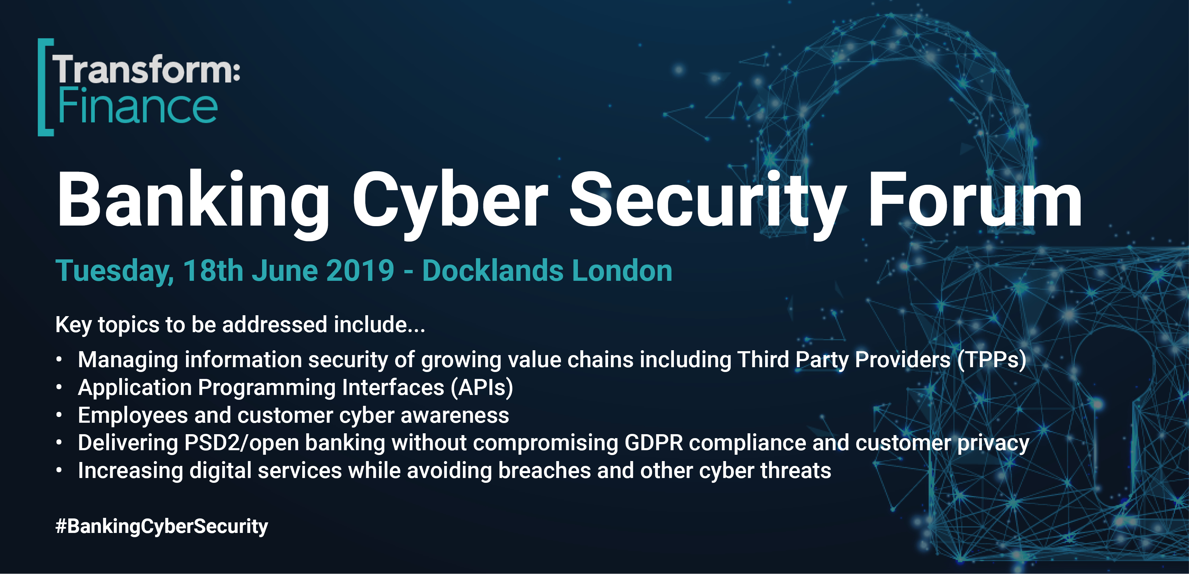 Banking Cyber Security Forum 2019 The Fintech Power 50