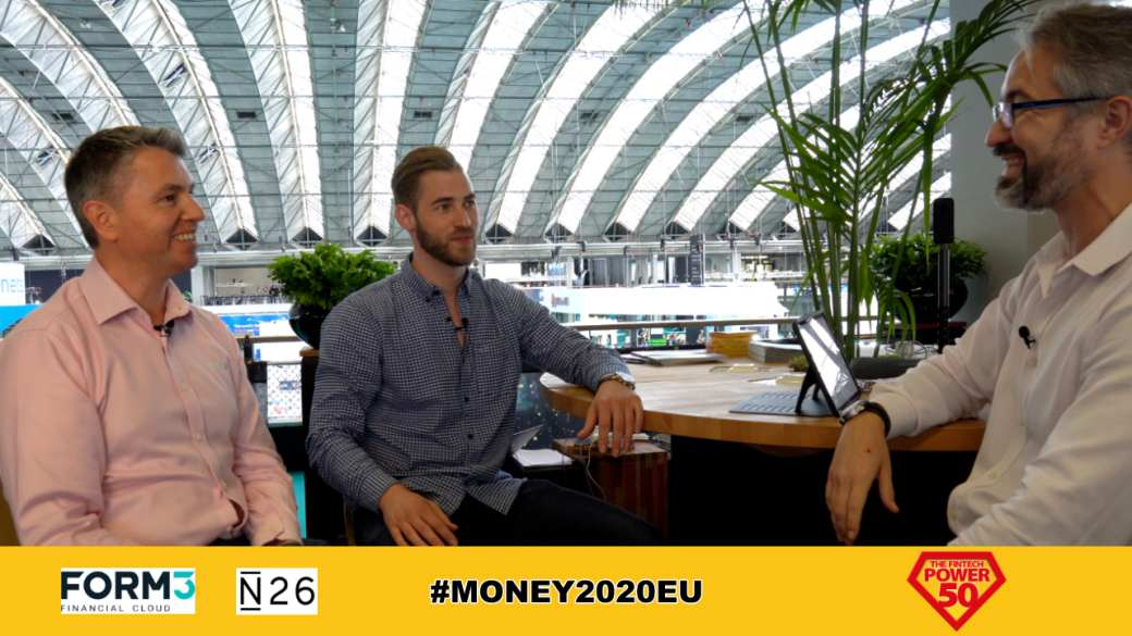 FORM3 and N26 Interview at Money2020 Europe 2019