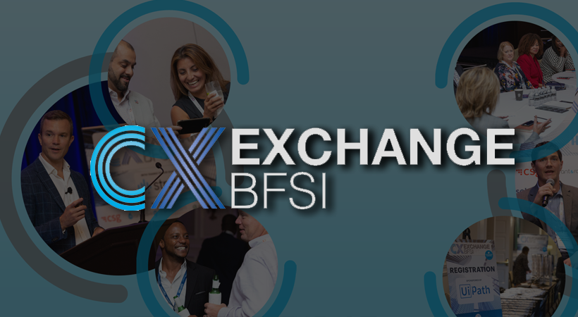 Customer Experience Exchange for Banking, Insurance and Financial Services