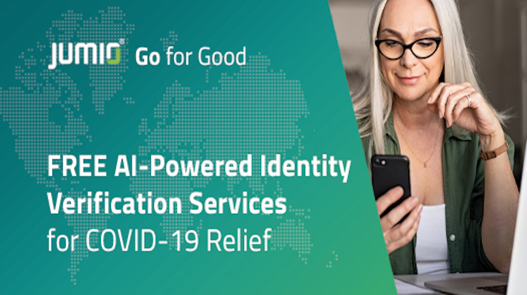 Jumio Donates AI-Fueled Identity Verification Service to Battle COVID-19 and Establish Trust Remotely
