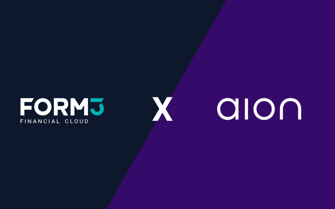 Form3 signs Belgian based digital bank AION in new partnership.