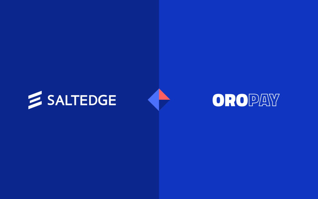 OROPAY's clients to enjoy new payment options with Salt Edge
