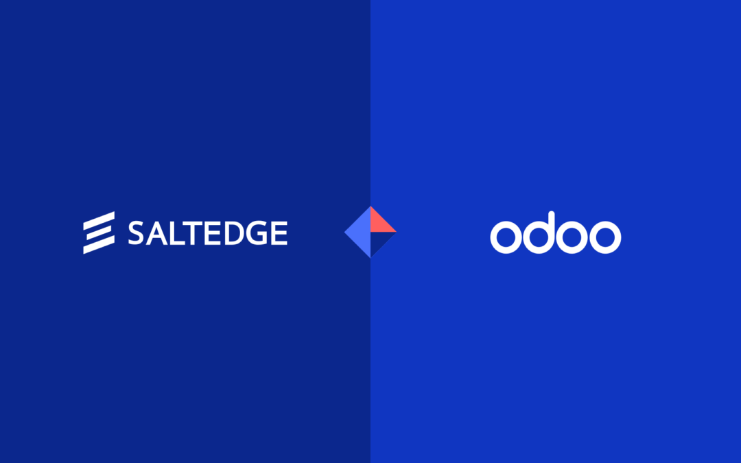 Odoo taps Salt Edge to accelerate invoices and payments reconciliation via open banking